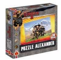 Puzzle 36 gigant Ekipa w górach Jak wytresować smoka 2