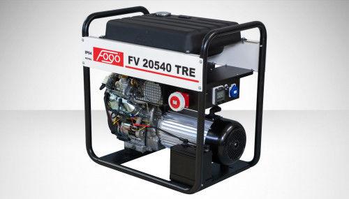 Fogo FV 20540 TRE Agregat prądotwórczy trójfazowy 400V/230V - AVR automatyczny regulator napięcia, powiększony zbiornik paliwa, elektryczny rozrusznik