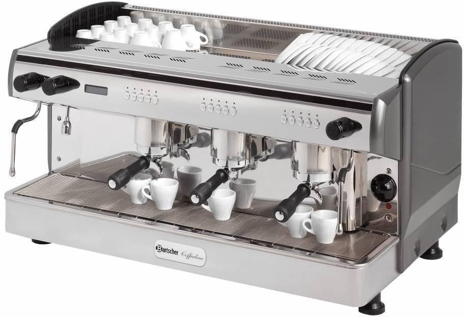 Bartscher Ekspres ciśnieniowy do kawy 3-grupowy Coffeeline G3 4300 W - kod 190162