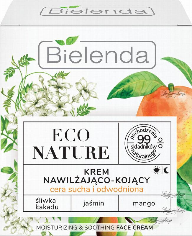 Bielenda - ECO NATURE - MOISTURIZING & SOOTHING FACE CREAM - Nawilżająco-kojący krem do twarzy (cera sucha i odwodniona) - 50 ml