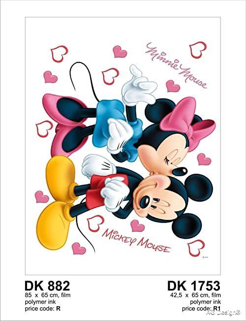 Naklejka ścienna DK 882 Disney Myszka Miki