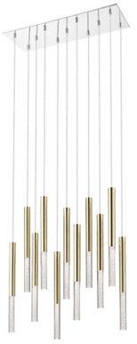 Lampa wiszące One P0461-11L-B5F7 Zuma Line minimalistyczna oprawa w kolorze złotym