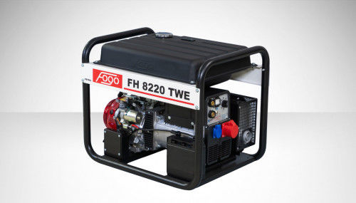 Fogo FH 8220 TWE Agregat trójfazowy 400V/230V z funkcją spawania - zbiornik paliwa, elektryczny rozrusznik