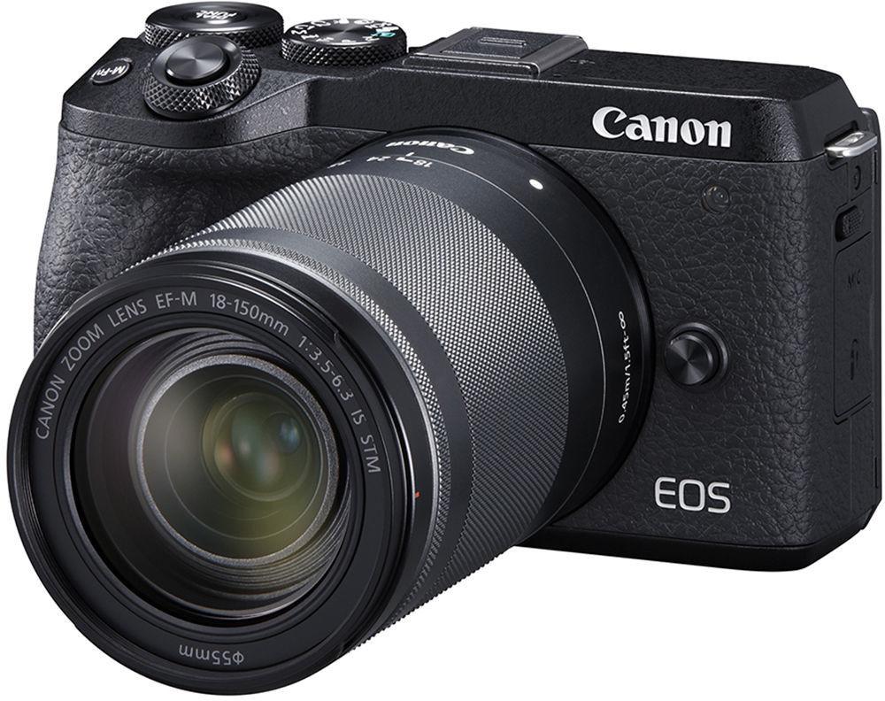 Canon EOS M6 Mark II + EF-M 18-150 mm f/3.5-6.3 IS STM Czarny