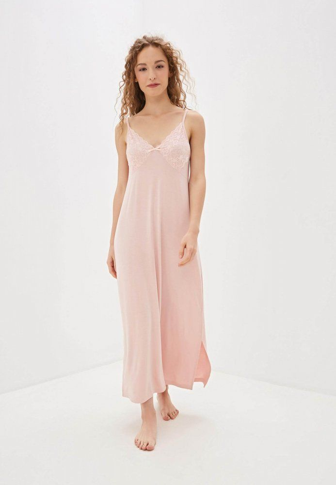 Bambusowa koszula nocna damska VERONA Różowy