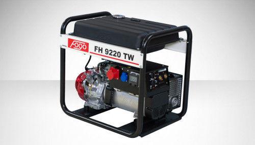 Fogo FH 9220 TW Agregat trójfazowy 400V/230V z funkcją spawania powiększony zbiornik paliwa