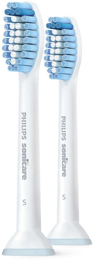 Philips SONICARE końcówki Sensitive Standard 2 szt. HX6052/07 - końcówki (głowice) do szczoteczki sonicznej