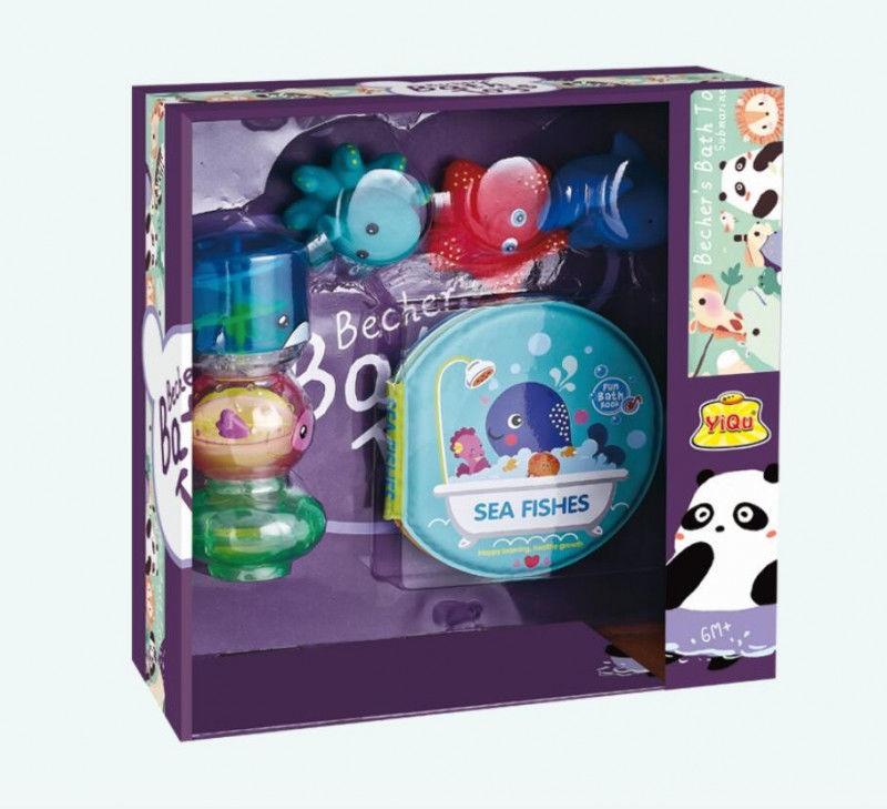 Zestaw zabawek do wody-zwierzęta morski