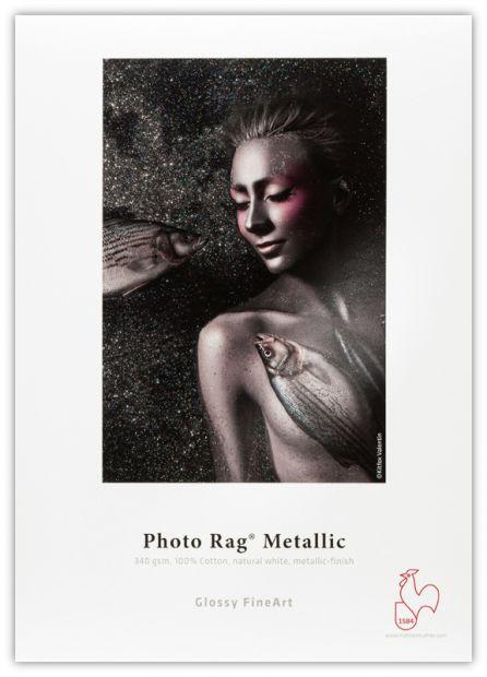 Papier HAHNEMUHLE Photo Rag Metallic 340gsm - A3+ / 25 arkuszy (10641761)