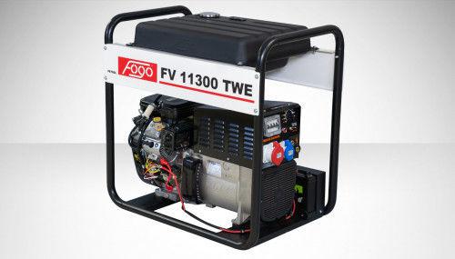 Fogo FV 11300 TWE Agregat trójfazowy 400V/230V z funkcją spawania - zbiornik paliwa, elektryczny rozrusznik