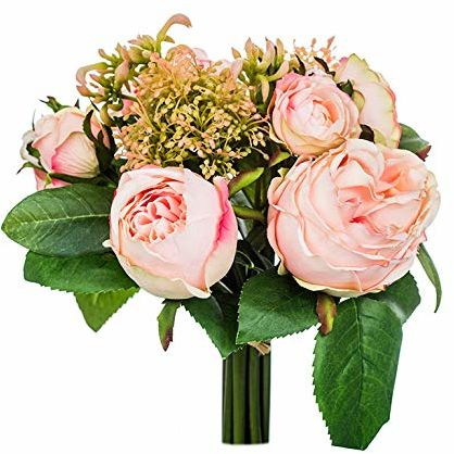 EUROCINSA Ref.71200C21 MELOCOTON róże i Skimias MELOCOTON, pudełko z 4 sztukami, różowe, 21 x 30 cm