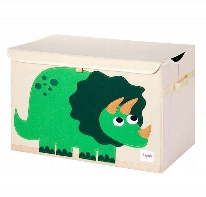 3 Sprouts - 3 Sprouts Pudełko Zamykane Dinozaur Green