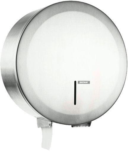 Pojemnik na papier toaletowy Katrin GIGANT S Mini stal matowa