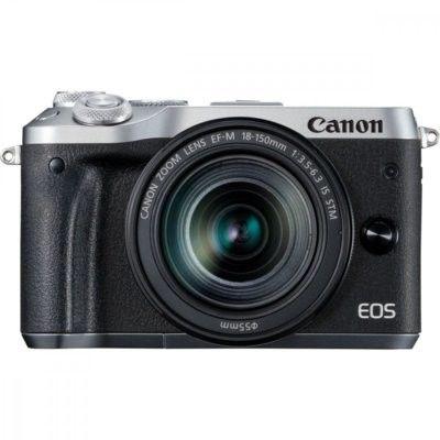 Canon EOS M6+EF-M 18-150mm f/3.5-6.3 IS STM Srebrny