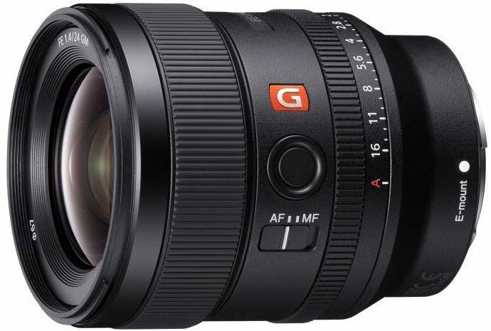 Sony FE 24 mm f/1.4 GM Pełnoklatkowy, stałoogniskowy obiektyw szerokokątny (SEL24F14GM)