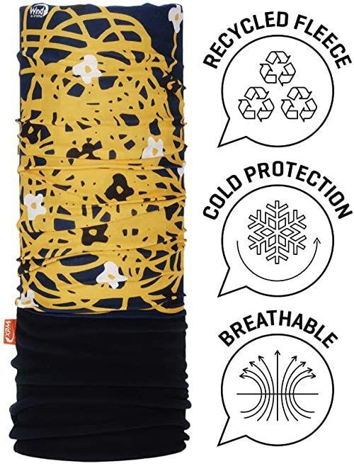 Wind X TREME 2101 chusta na szyję i głowę, damska, wielokolorowa (niebieski/żółty), rozmiar uniwersalny