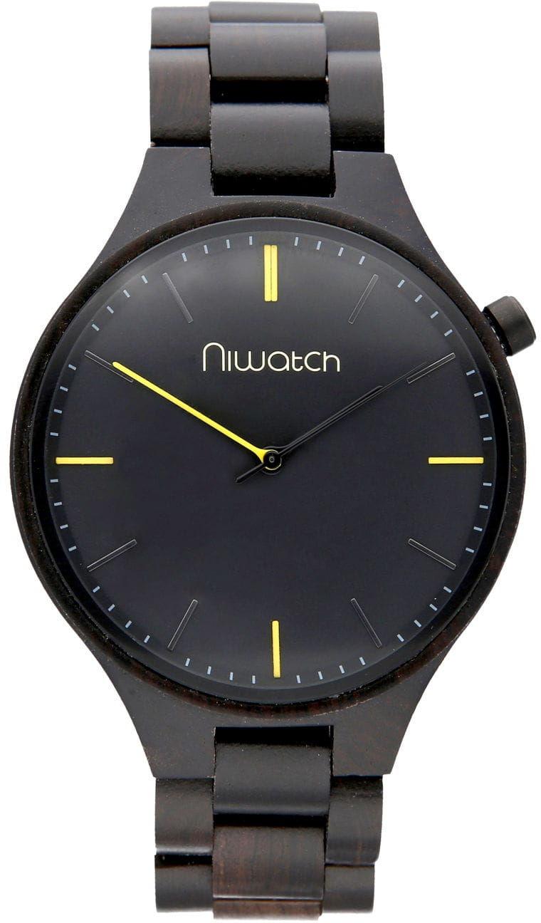 Zegarek drewniany Niwatch - kolekcja CASUAL - HEBAN