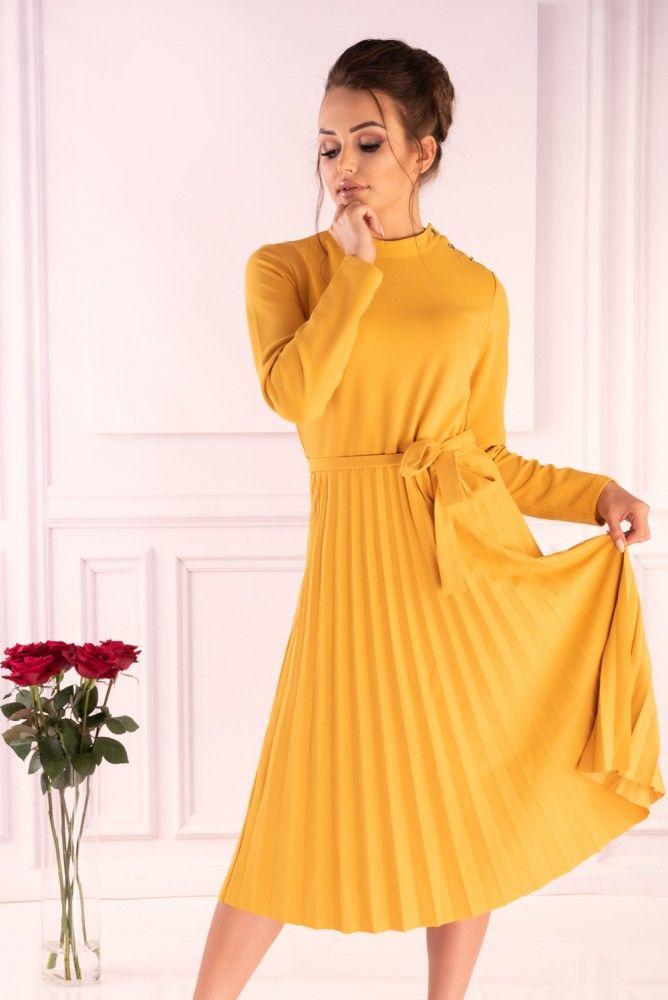 Hamien Yellow 85603 sukienka