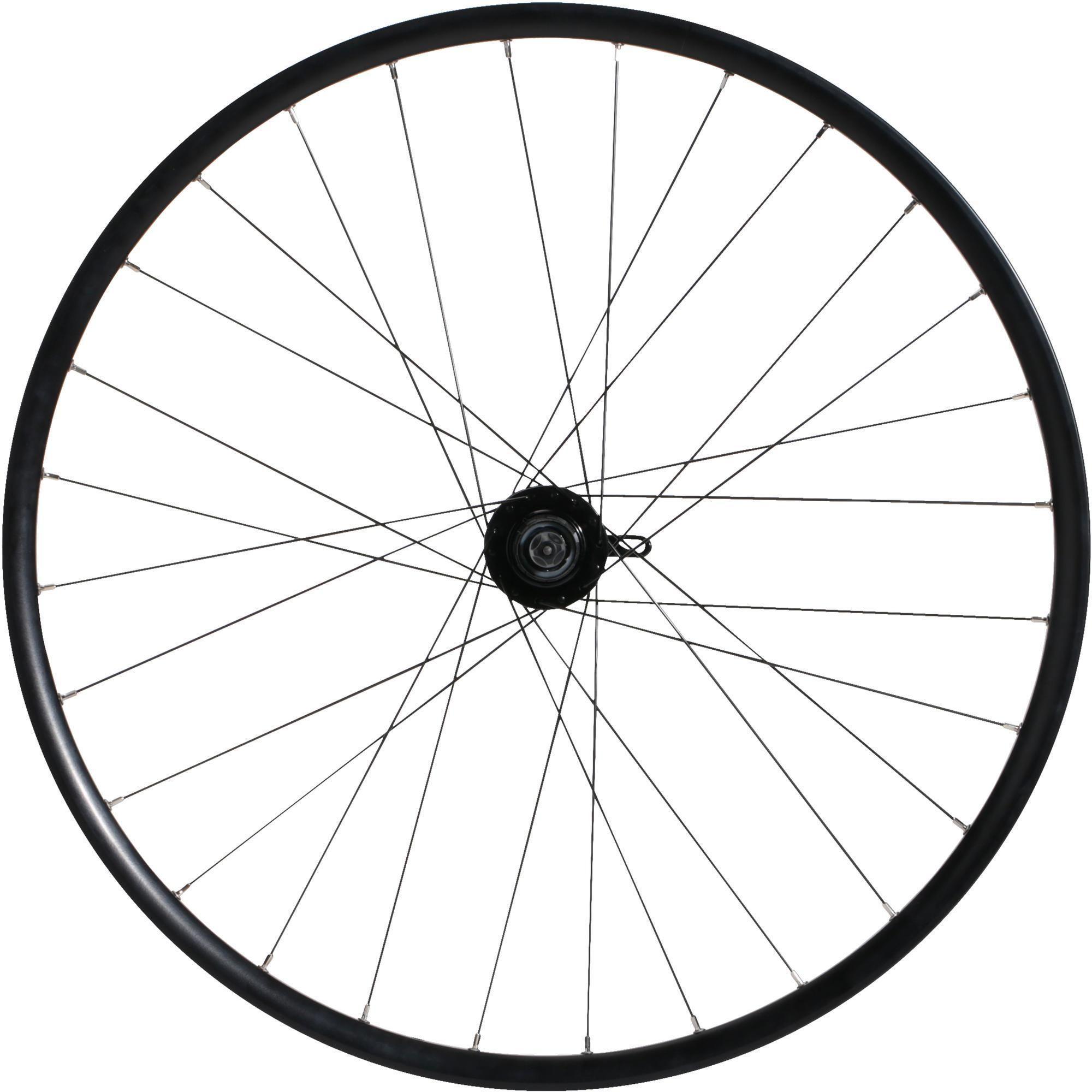 """Koło do roweru MTB 27,5""""x19C tylne dwukomorowe do tarczy, kasety i QR"""