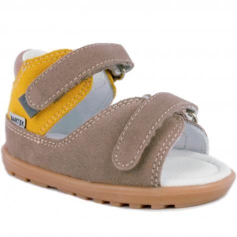 Bartek Baby Mini First Steps 71266 0001 profilaktyczne sandałki, sandały dla dzieci