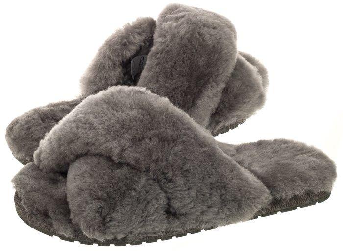 Klapki EMU Australia Mayberry Charcoal W11573 (EM230-a)