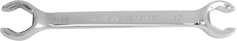 Klucz oczkowy półotwarty, płaski 17x19mm Yato YT-01385 - ZYSKAJ RABAT 30 ZŁ