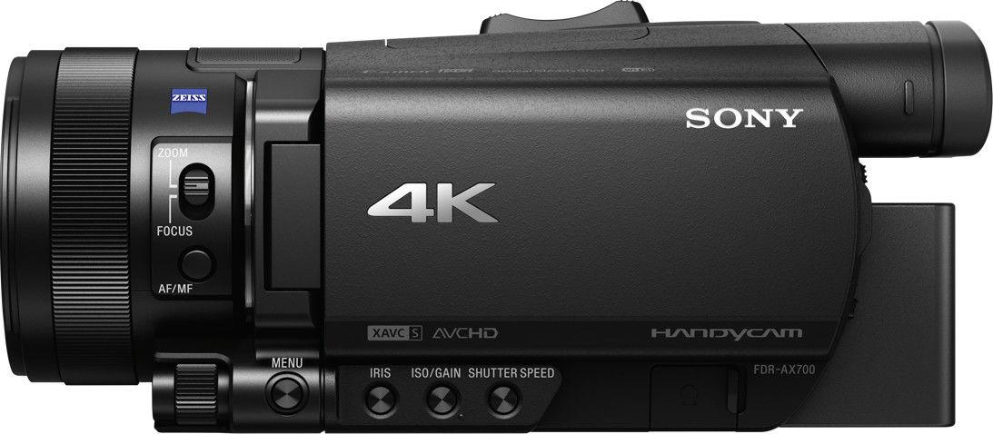 Kamera cyfrowa Sony FDR-AX700 4K HDR