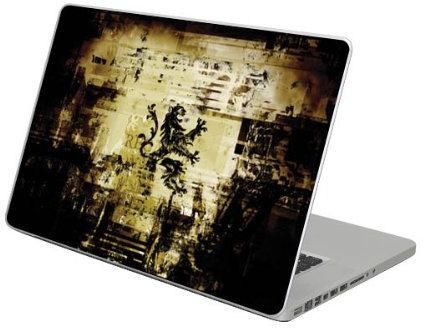 """Diabloskinz samoprzylepna folia ochronna z winylu do Apple MacBook Pro o przekątnej 38,1 cm/15 cali, wzór: """"regał"""""""