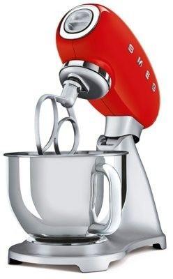 SMEG_Mikser SMF02RDEU czerwony - Produkt na zamówienie - realizacja początek września -(22)8777777- Zadzwoń - Darmowa dostawa- Autoryzowany Partner marki SMEG