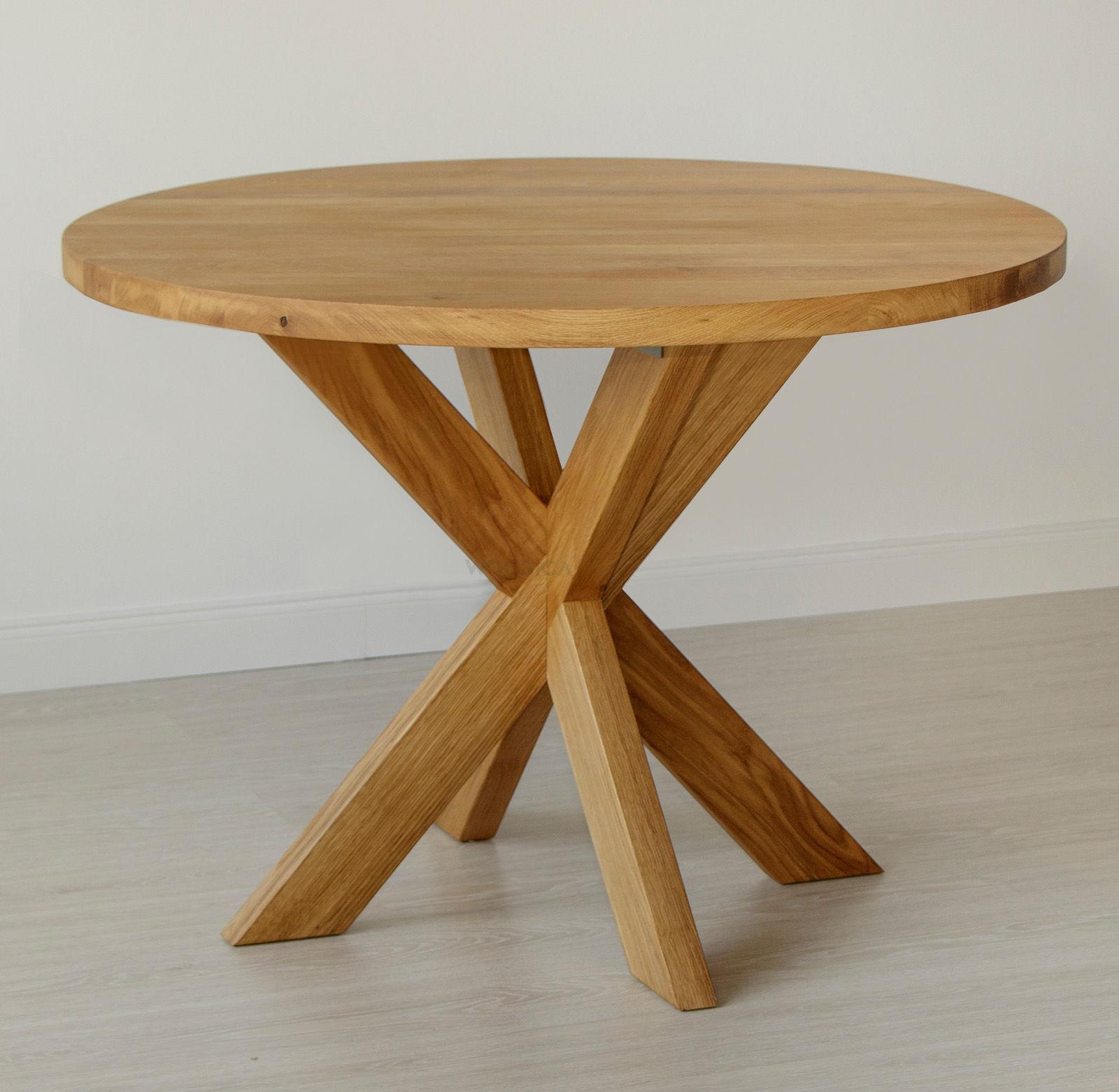 Stół masyw 07 Okrągły
