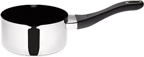 Prestige 77382 Create garnek do mleka ze stali nierdzewnej, 14 cm
