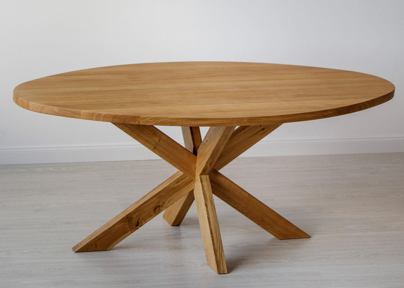 Stół masyw 08 Owal