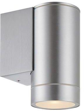 Kinkiet Pipe 107915 Markslojd nowoczesna oprawa w kolorze aluminium