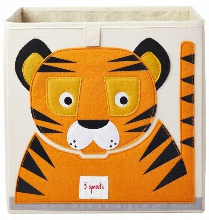 3 Sprouts - 3 Sprouts Pudełko na Zabawki Tygrys Orange