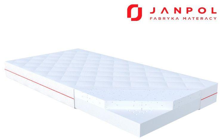 JANPOL LIO  materac dziecięcy, lateksowy, Rozmiar - 60x120, Pokrowiec - Puroactive WYPRZEDAŻ, WYSYŁKA GRATIS