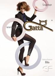 Rita - Legginsy damskie wzorzyste 100DEN