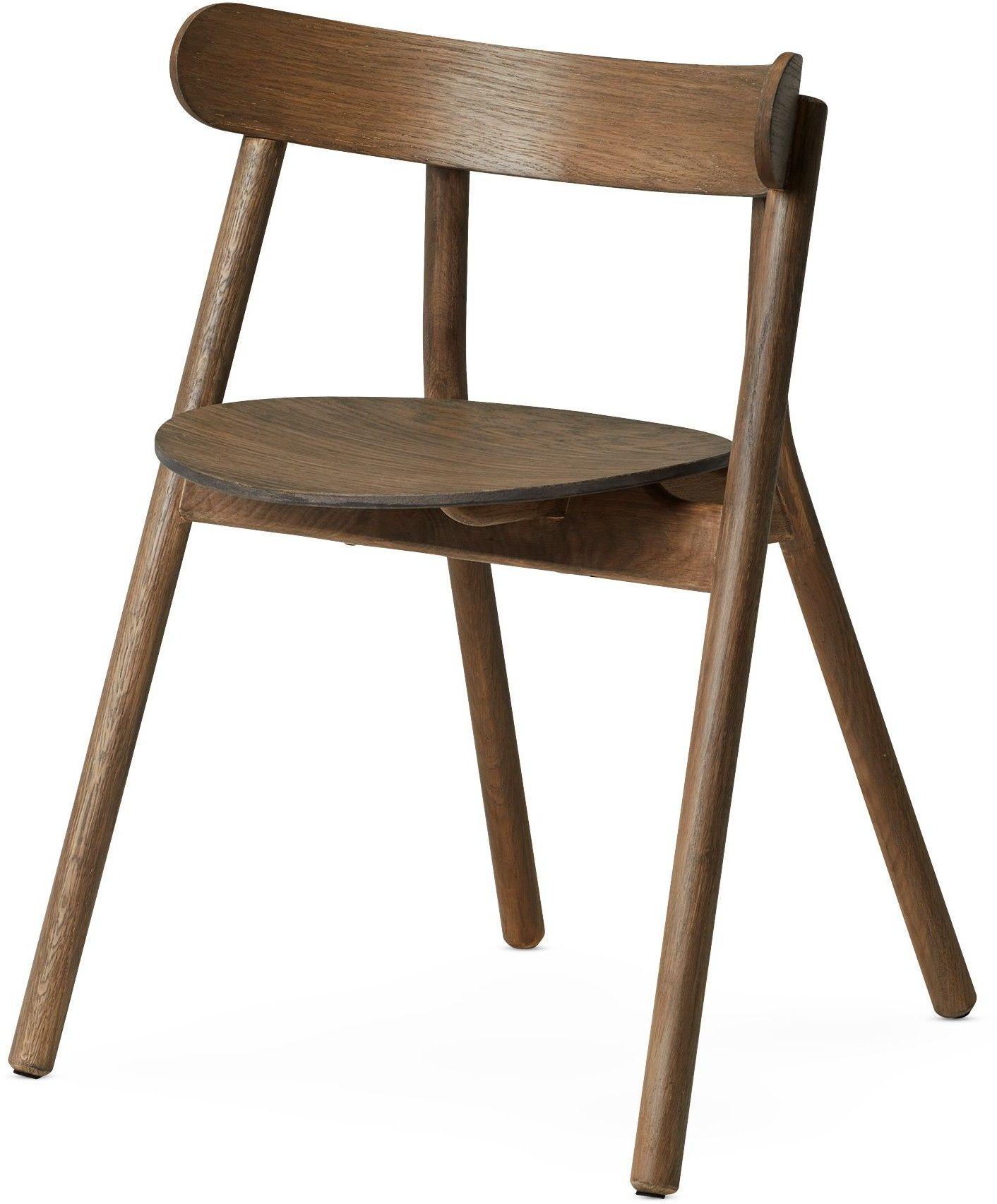 Oaki krzesło przydymiony dąb Norhern Lighting