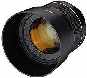 Samyang AF 85 mm /F1.4 Sony FE  85 mm Portrait stała ogniskowa autofokus, pełnoklatkowy obiektyw do aparatów systemowych Sony Alpha, pełnoklatkowy i aparatów APS-C z Sony E Mount, FE Mount