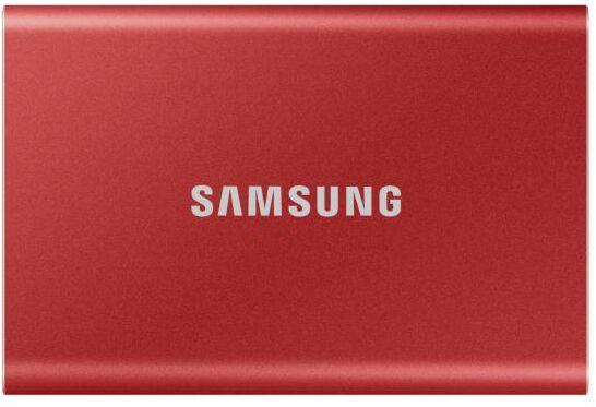Samsung T7 1TB USB 3.2 (czerwony) - Kup na Raty - RRSO 0%
