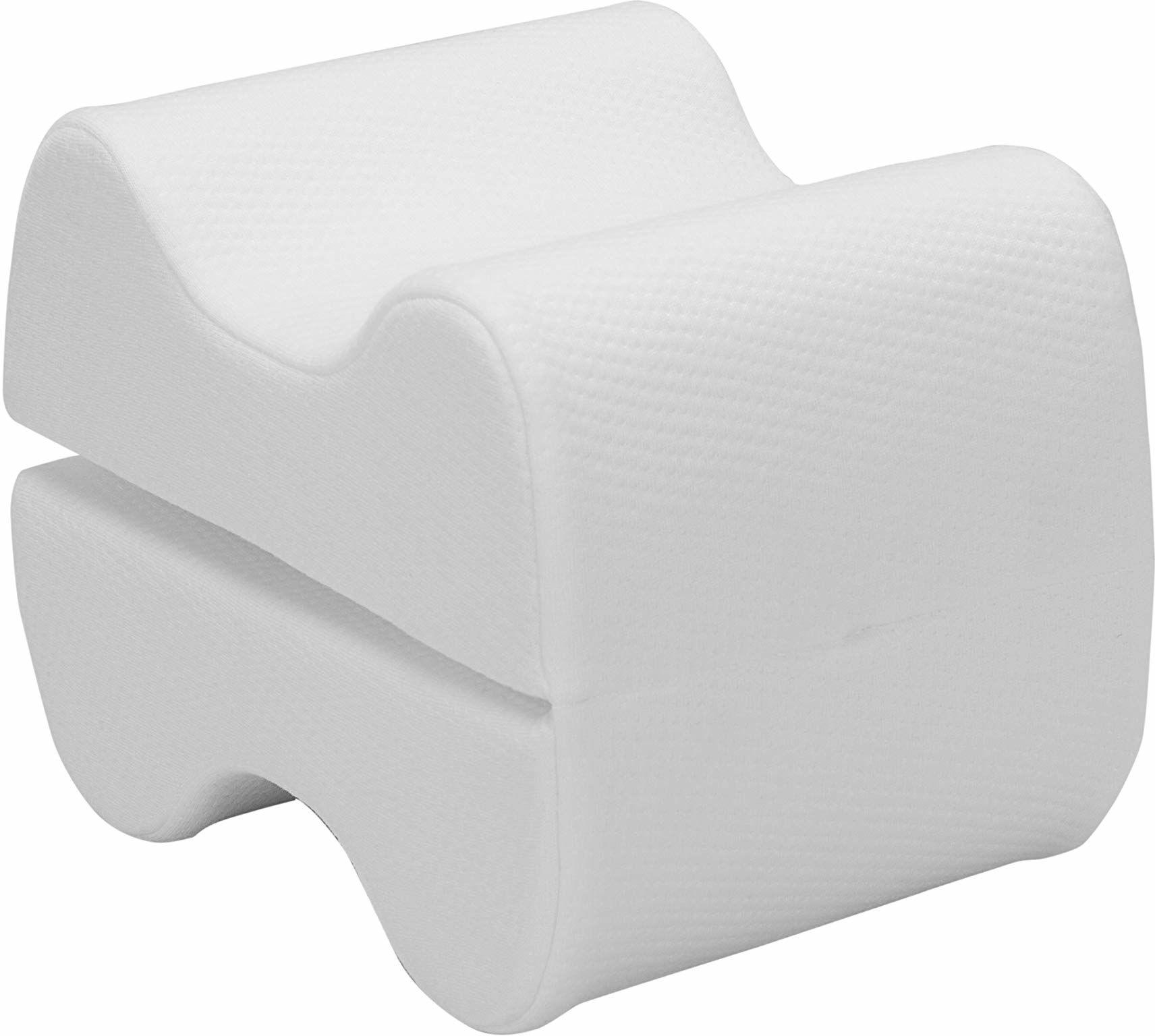 Pikolin Home - Poduszka na nogi z wiskoelastycznej wiskozy, ergonomiczna, 20 x 15 cm, kolor naturalny