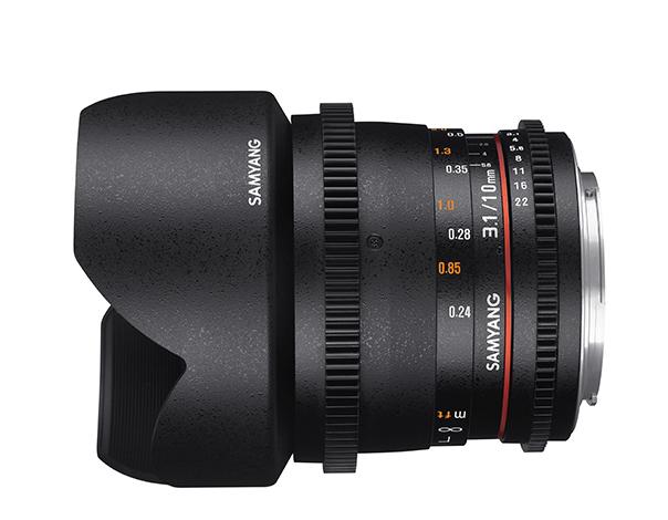 Samyang 10mm T3.1 VDSLR ED AS NCS CS II - obiektyw do Sony E Samyang 10mm T3.1 VDSLR ED AS NCS CS II