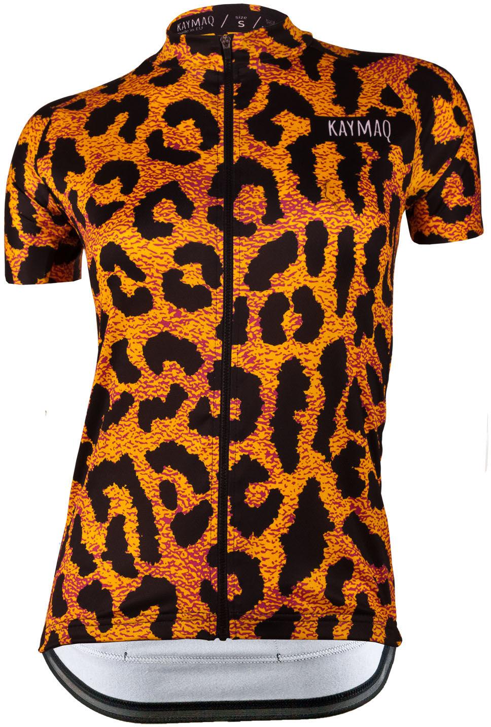 KAYMAQ DESIGN W30 damska koszulka rowerowa krótki rękaw Rozmiar: M,KYMQ-W30-KOSZ
