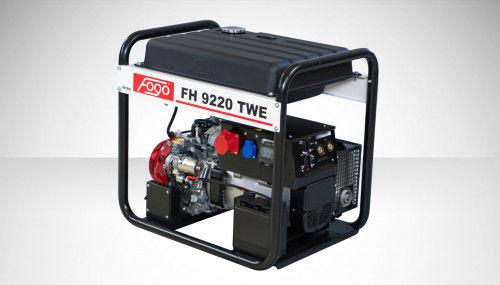 Fogo FH 9220 TWE Agregat trójfazowy 400V/230V z funkcją spawania - zbiornik paliwa, elektryczny rozrusznik