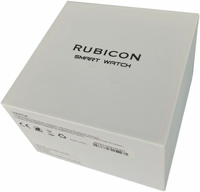 Smartwatch RUBICON RNCE40DIBX01AX