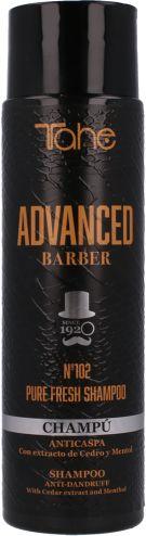 Tahe Advanced Barber 102 Pure Fresh szampon przeciwłupieżowy 300ml