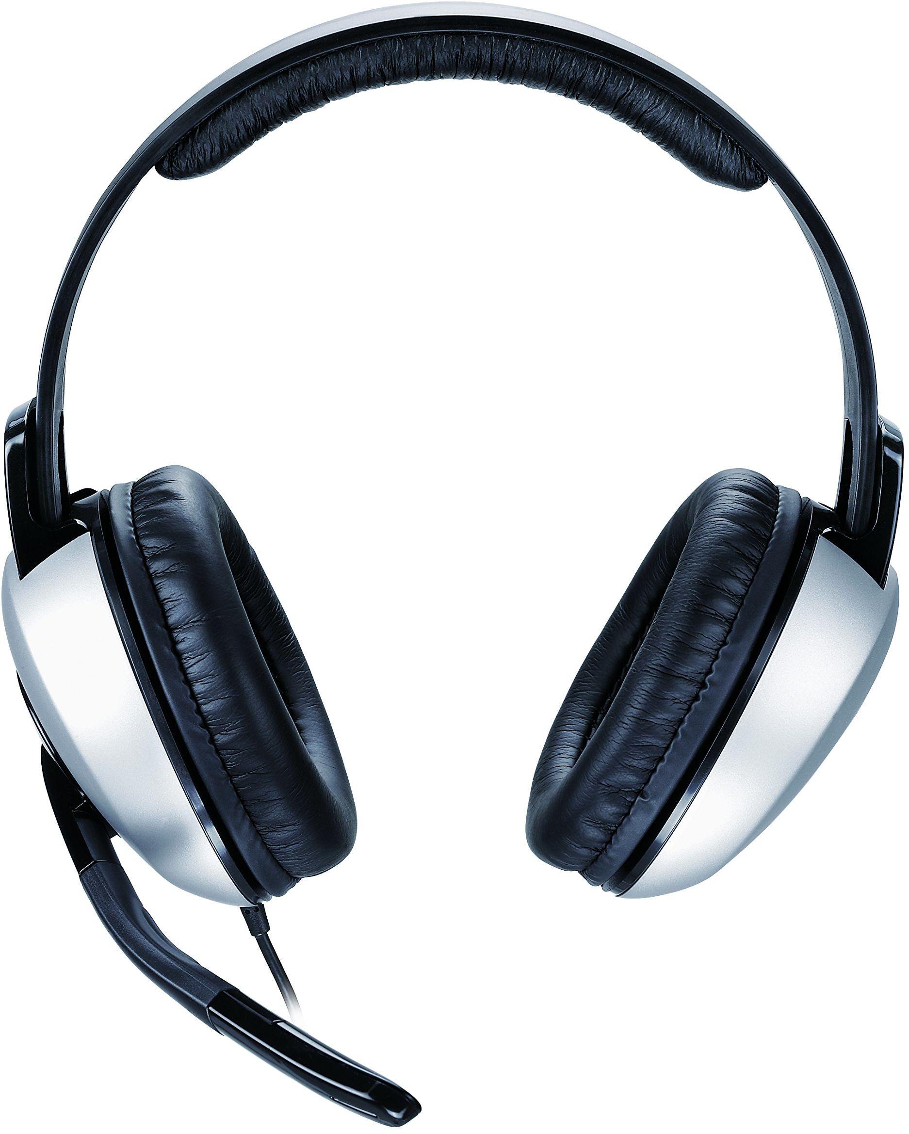 Genius HS-05A słuchawki stereo z mikrofonem do PC multimediów