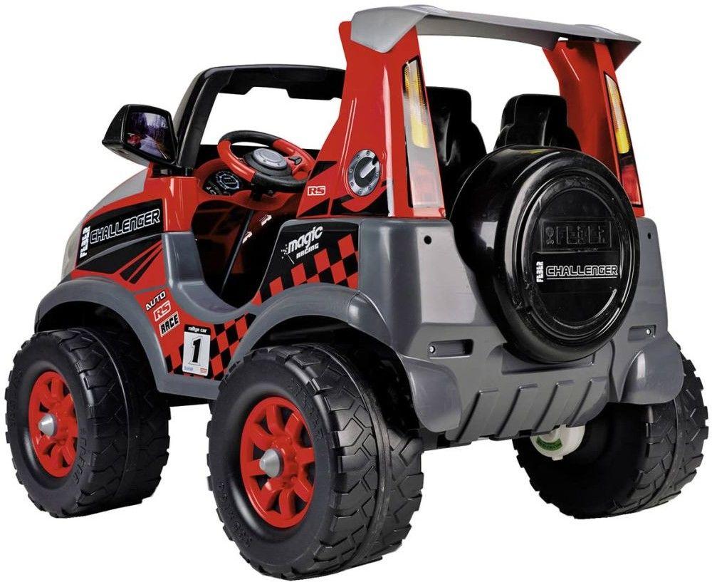 Feber Samochód Elektryczny 12V Challenger Dwuosobowy