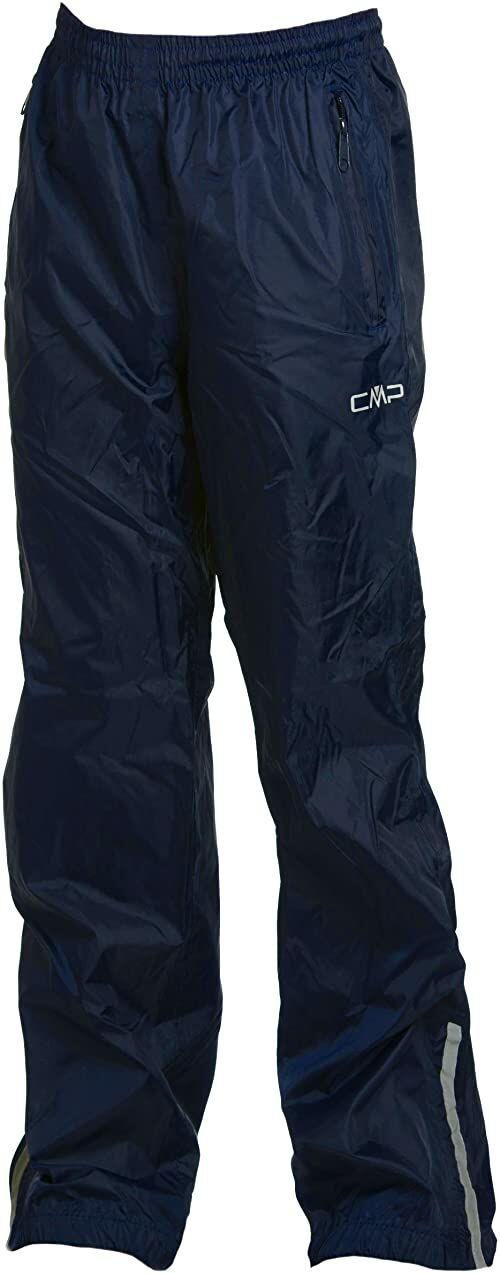 CMP Chłopięce spodnie przeciwdeszczowe, niebieskie (granatowe), 176, 3X96534