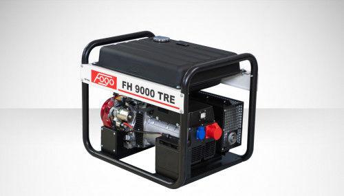 Fogo FH 9000 TRE Agregat prądotwórczy trójfazowy 400V/230V - AVR automatyczny regulator napięcia, powiększony zbiornik paliwa, elektryczny rozrusznik