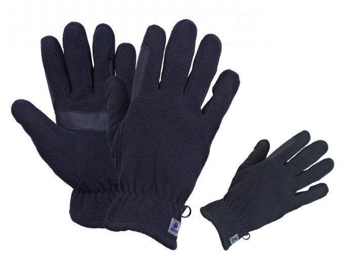 Rękawiczki zimowe polarowe LEEVI - Busse